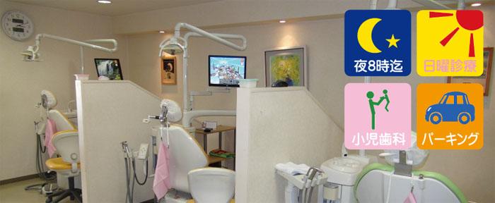 日曜日 歯医者